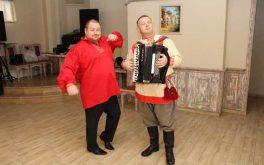 Юбилей в русском стиле