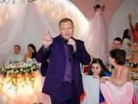 Поющий ведущий баянист тамада на свадьбу юбилей