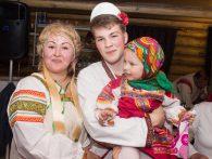 Юбилей русский народный стиль