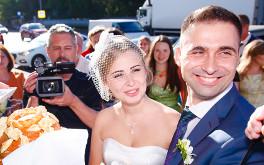 Видео на свадьбе
