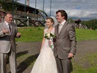 Ведущий на свадьбу в агроусадьбе Ранчо
