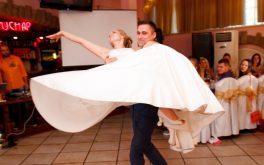 Первый танец молодожёнов