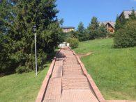 Valesko Hotel&Spa каменная дорожка со ступеньками