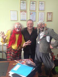 Мимы клоуны на праздник