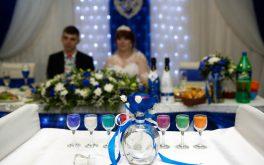 Песочная церемония для жениха и невесты