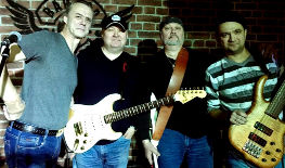 Музыкальная группа в стиле рок-н-ролл